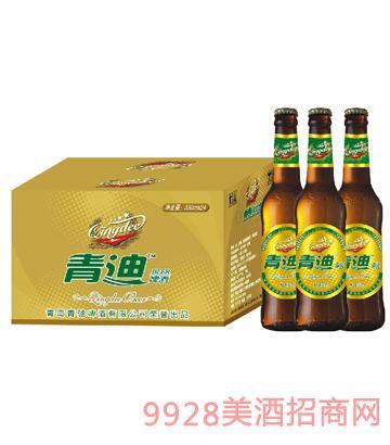 青岛青迪啤酒330ml