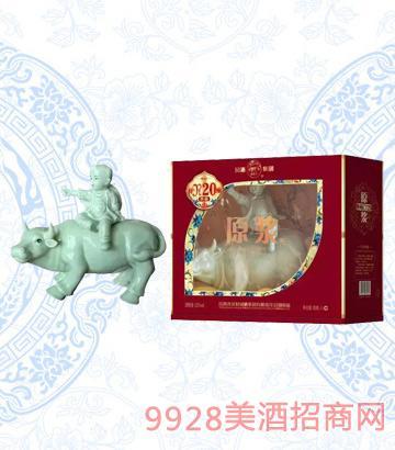 汾酒集团52度20年典藏原浆牧童牛