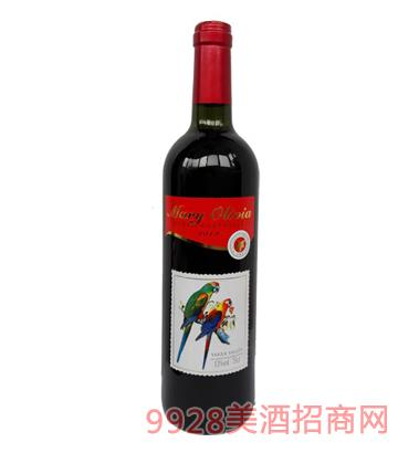 澳大利亚红鹦鹉干红葡萄酒