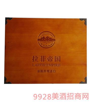 拉菲帝国方木箱葡萄酒
