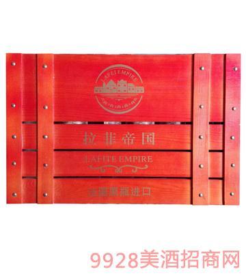 拉菲帝国宽木箱葡萄酒