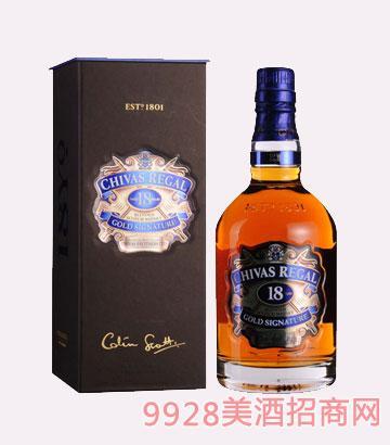 英国芝华士18年苏格兰威士忌