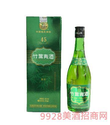 45度牧童盒竹叶青酒