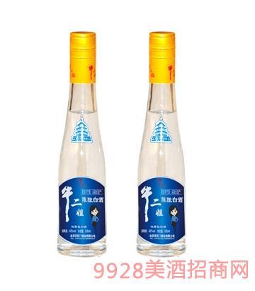 42度牛二姐陈酿白酒(蓝)500mlx12