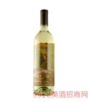 鸿宁酒庄长相思白葡萄酒