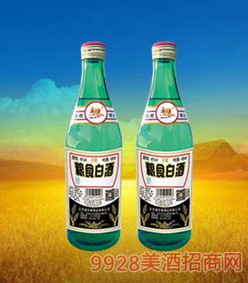 京泰酒业粮食白酒420mlx12