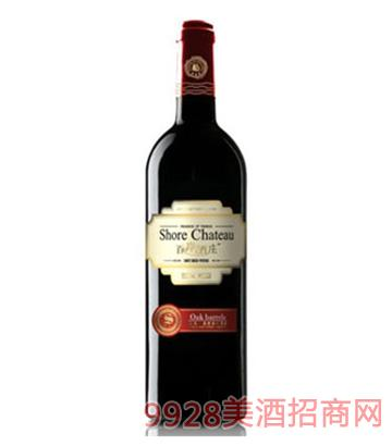 百岸酒庄烟台产区BC02葡萄酒