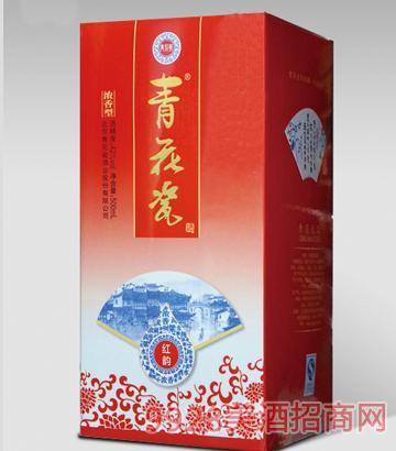 青花瓷红韵普通卡盒