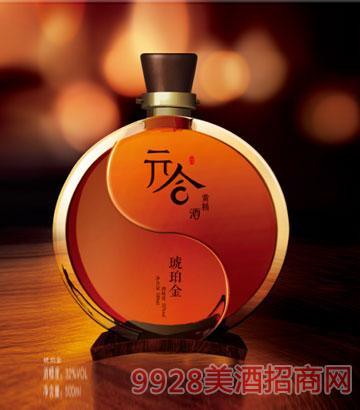 琥珀金黄精酒