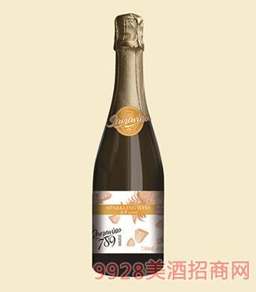 菠萝起泡果酒(香槟瓶)