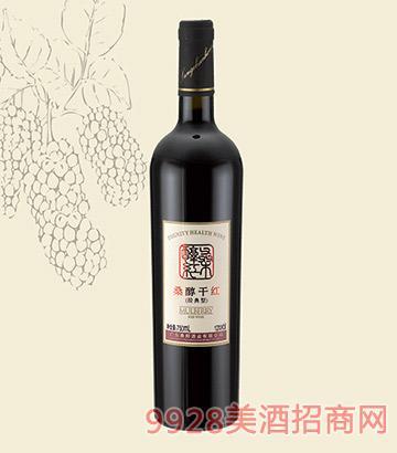桑醇干红葡萄酒(经典简装)