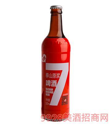 泰山原浆啤酒520ml10度