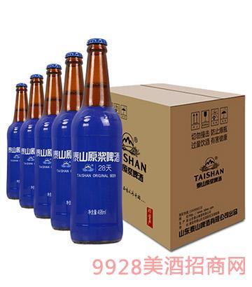 泰山原浆啤酒8度496ml