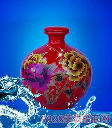 红瓷坛装礼品酒