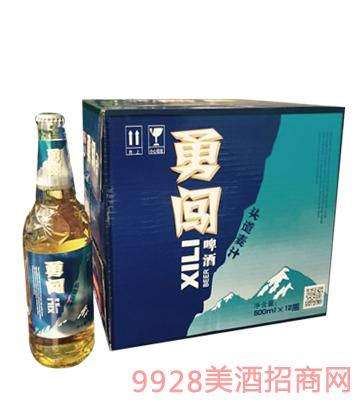 勇闯啤酒500mlx12瓶