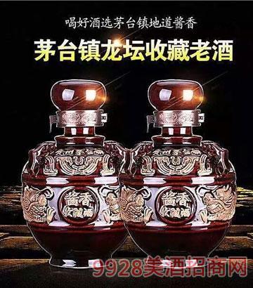 茅台镇龙坛收藏老酒