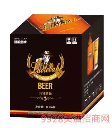 劳特巴赫啤酒精酿黑啤1Lx6瓶