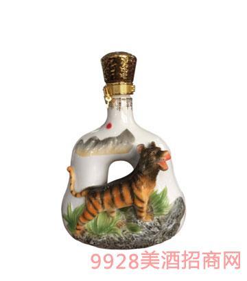 十二生肖酒瓶虎