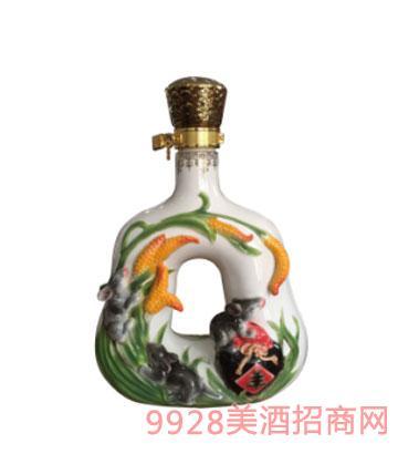 十二生肖酒瓶鼠