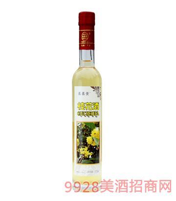果果黄桂花酒375ml