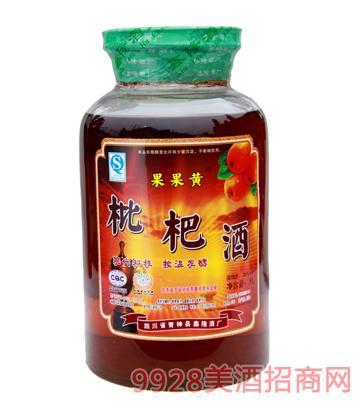 果果黄枇杷酒5L