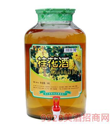 果果黄桂花酒10L