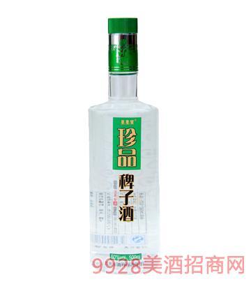 50度果果黄珍品稗子酒500ml