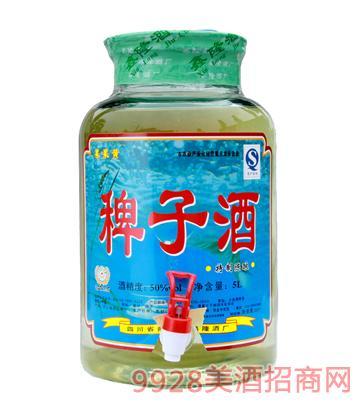 50度果果黄稗子酒5L