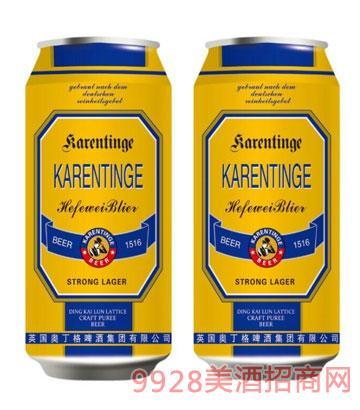 英国奥丁格啤酒500ml