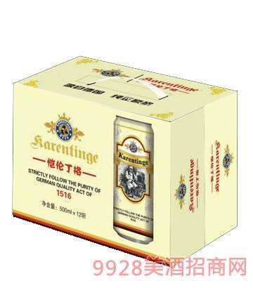 恺伦丁格白啤酒(盒装)