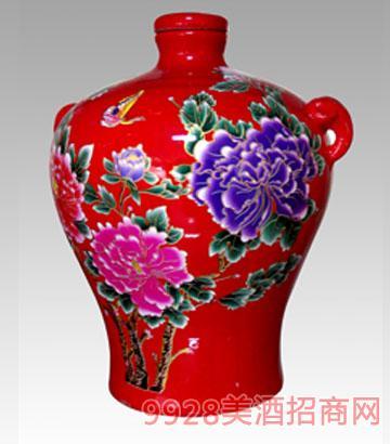 5斤青彩瓷梅瓶酒