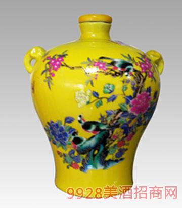 5斤彩瓷梅瓶酒