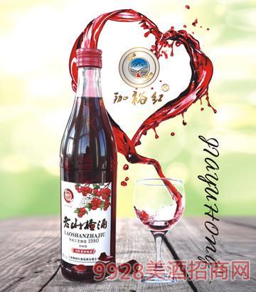 珈裕红山楂酒500毫升