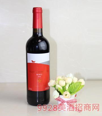 艾斯蒂安山脉红葡萄酒(红标)
