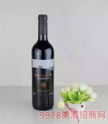 艾斯蒂安山脉红葡萄酒(黑标)