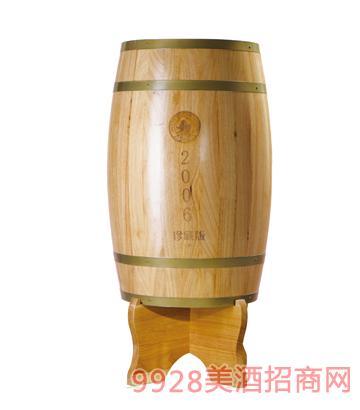 福麟橄榄酒2006年50L窖藏