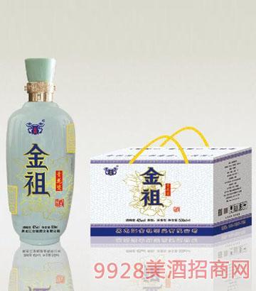金祖青花瓷酒