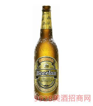 老挝啤酒金啤640ml