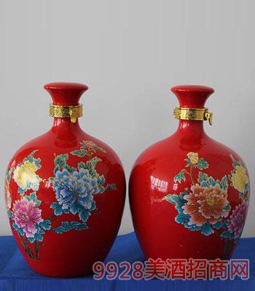 五斤红色冬瓜酒