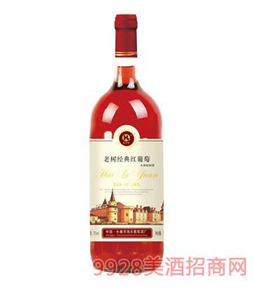 海乐老树经典红葡萄酒
