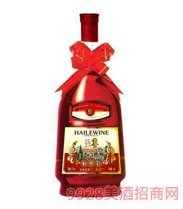 海乐红葡萄酒水果配制酒