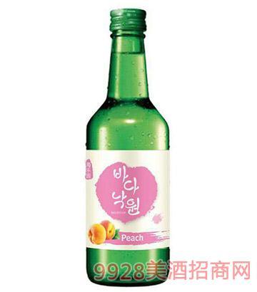 海乐园韩国清酒-水蜜桃味