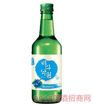 海乐园韩国清酒-蓝莓味