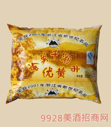 莫干湖-三年陈黄酒350ml