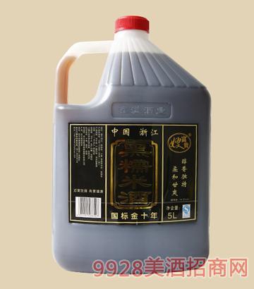 富贵嫂-黑糯米酒5L