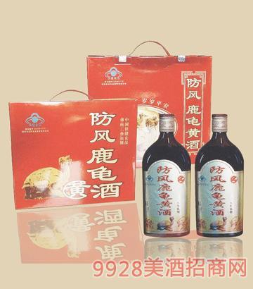 防风-鹿龟黄酒-八年