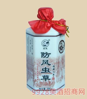 防风-防风虫草酒清醇十年500ml