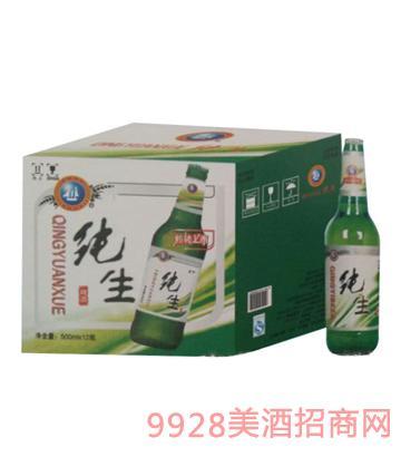青邑纯生啤酒8°500mlx12瓶