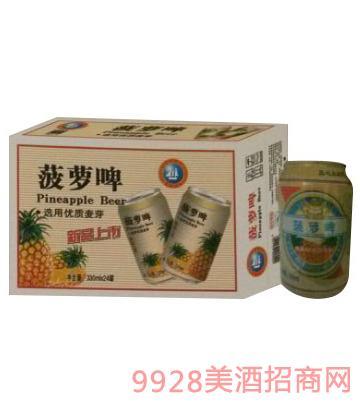 青邑菠萝啤330mlx24罐啤酒8°P