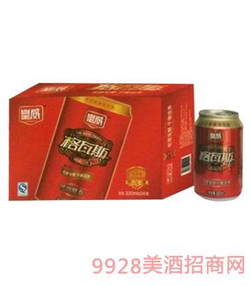 皇威格瓦斯330mlx24罐啤酒8°P